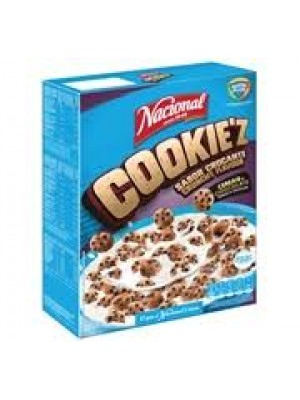 Cereais Chocolate Cookie'z Nacional 300g