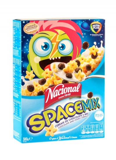 Cereais Nacional  Space Mix 300g