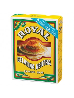 gelatina neutra royal 2X10g