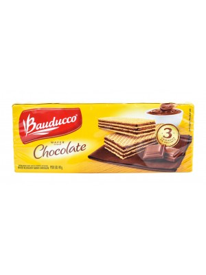 Wafer Bauducco Chocolate 140G