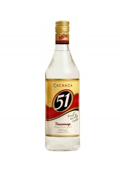 cachaca 51 aguardente de cana do brazil 700ML