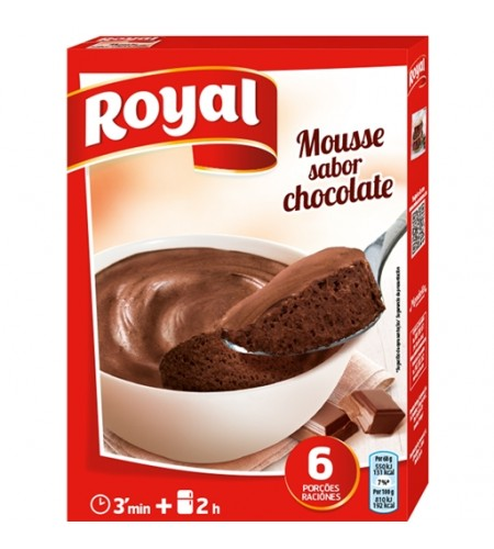 mousse de chocolate royal 158g