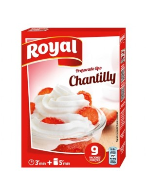 preparado para chantilly royal  72g